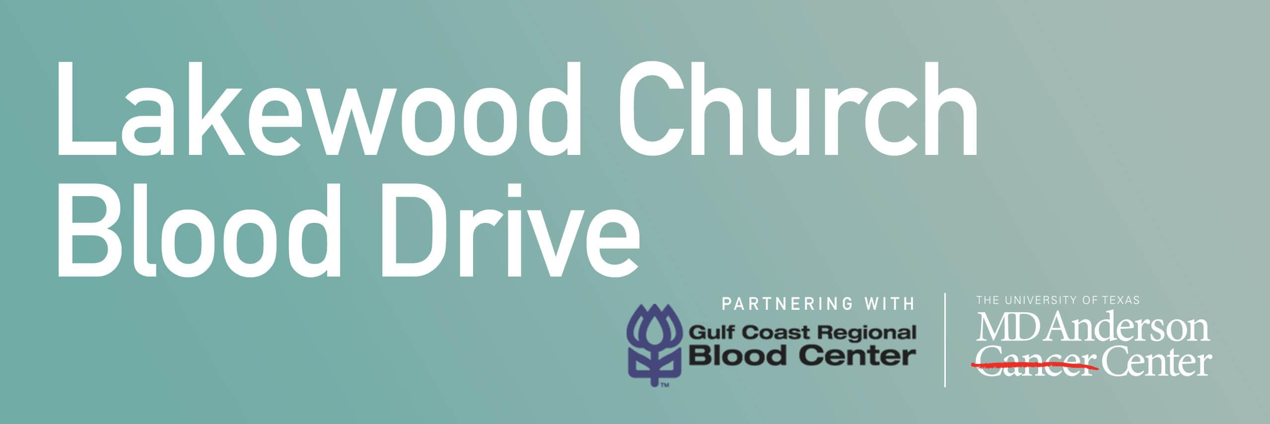 Lakewood Church Blood Drive