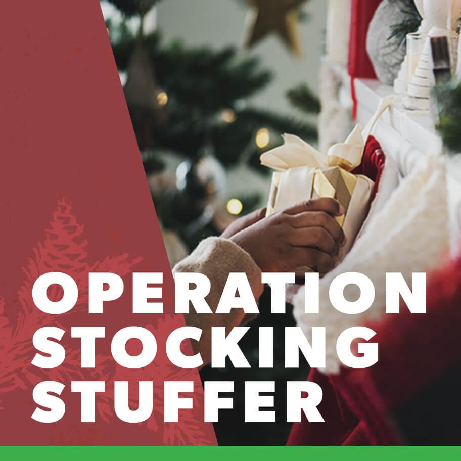 Operation Stocking Stuffer