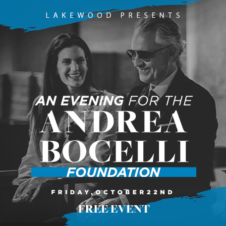 An Evening for the Andrea Bocelli Foundation