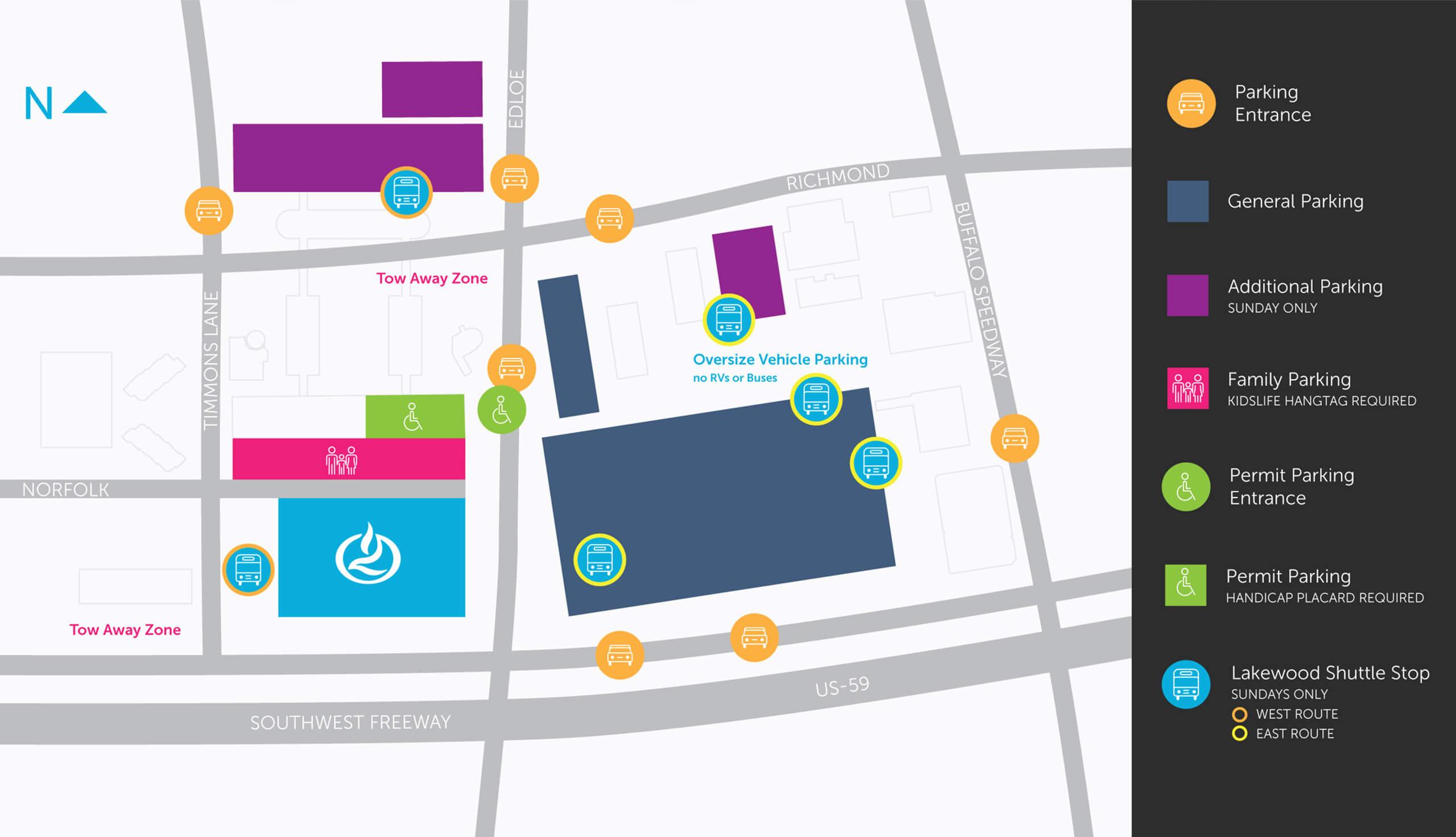 Lakewood Church Parking Guide