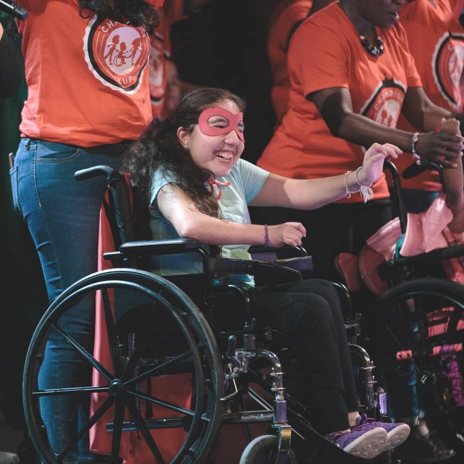 Special Needs children perform musical