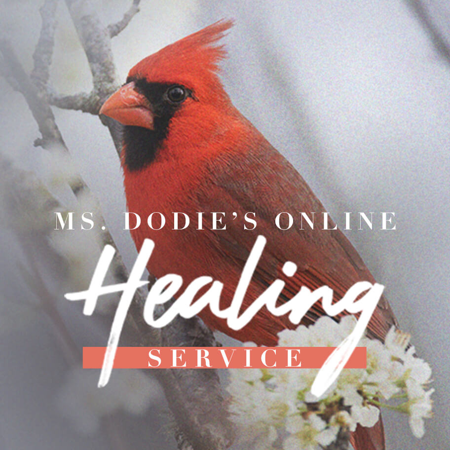 Ms. Dodie's Online Prayer and Healing Service