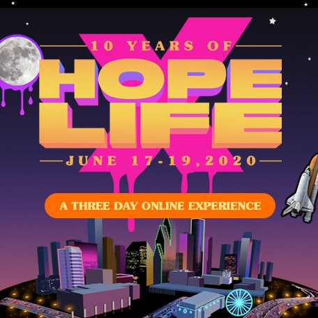 Hope and Life: A Three Day Online Experience