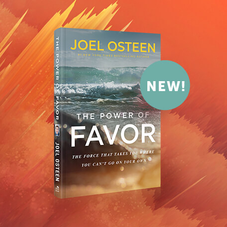 New! | The Power of Favor by Joel Osteen