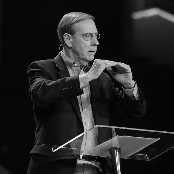 Gary Chapman speaking at Spark Marriage Conference