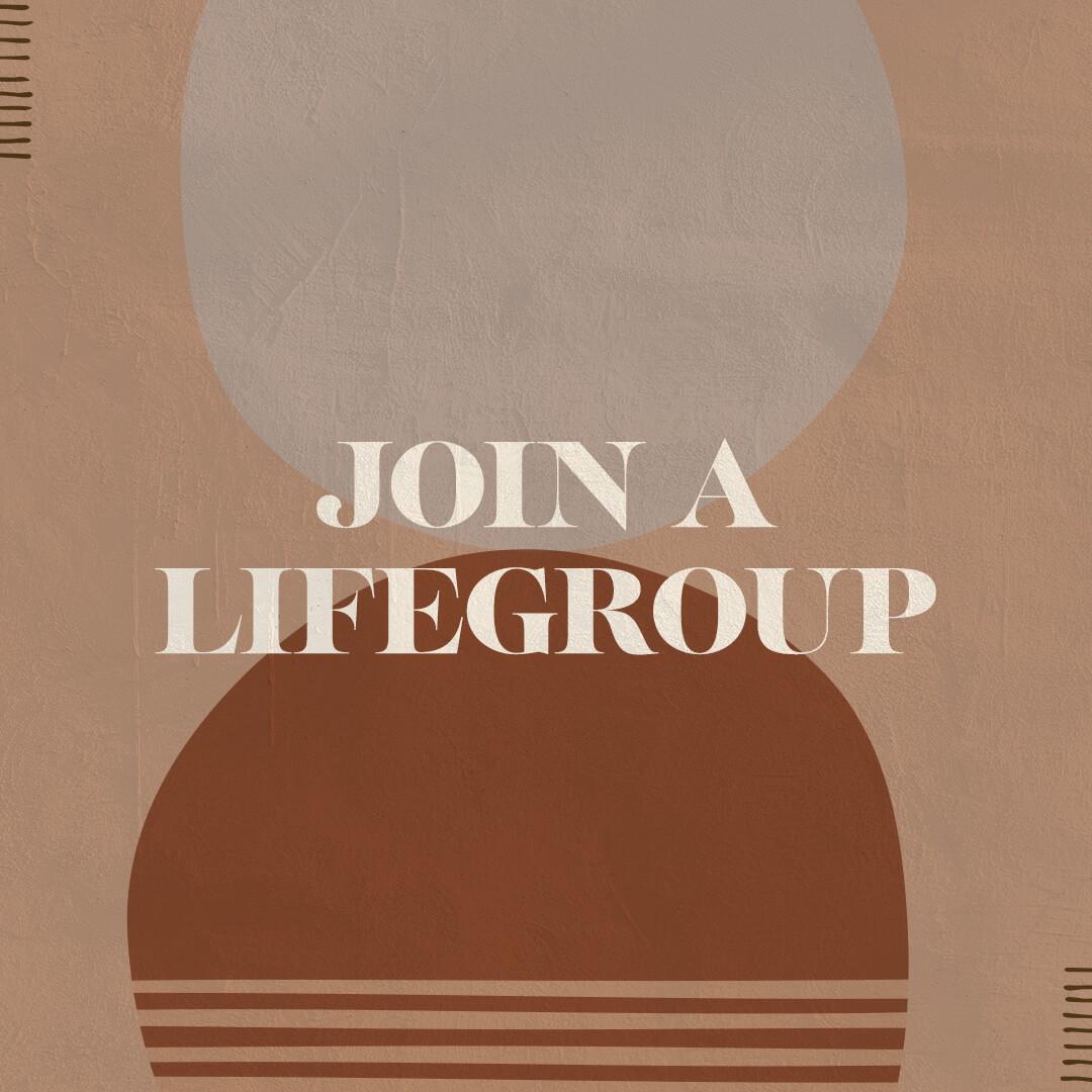 Join A Lifegroup