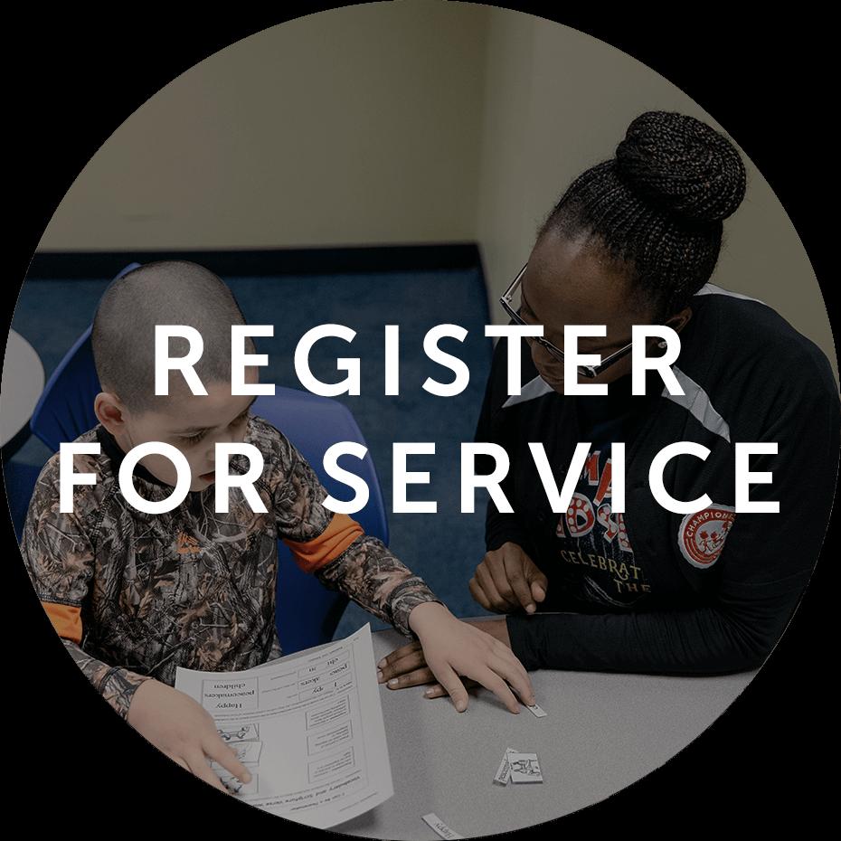 Register for Service