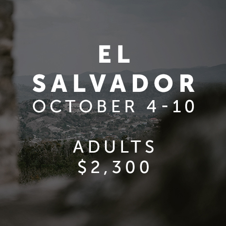 El Salvador Mission Trip