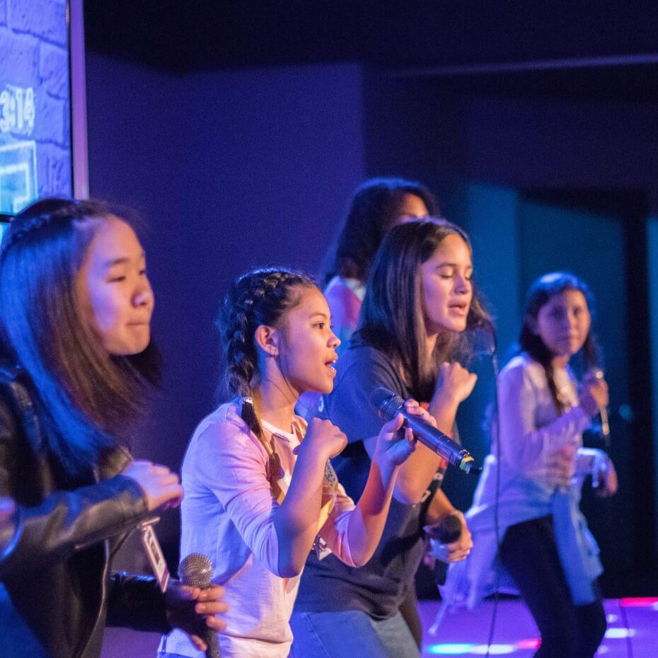 KidsLife worship is led by kids for kids.