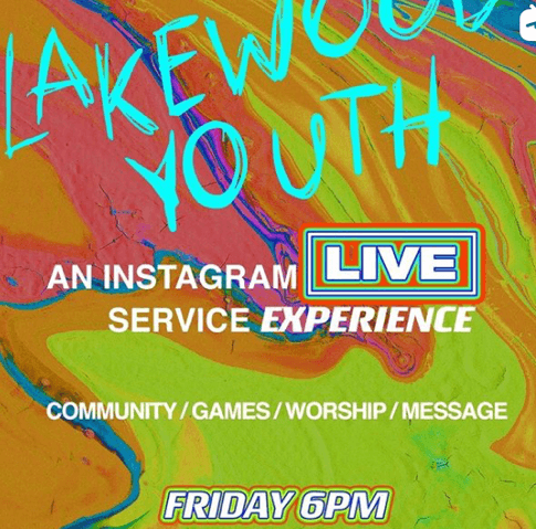 Lakewood Youth: An Instagram LIVE Experience