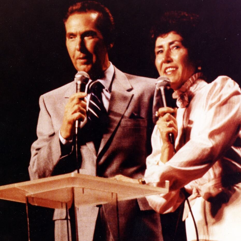 Lakewood founders John and Dodie Osteen